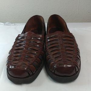 Dark Brown Sunsteps slip-on shoes
